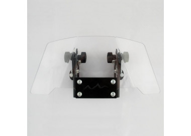 Adjustable windscreen deflector 2D