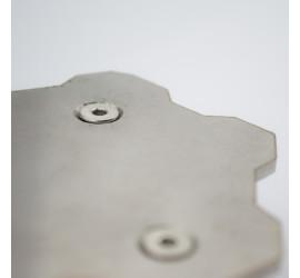 Poszerzenie stopki bocznej XT660R XT660X
