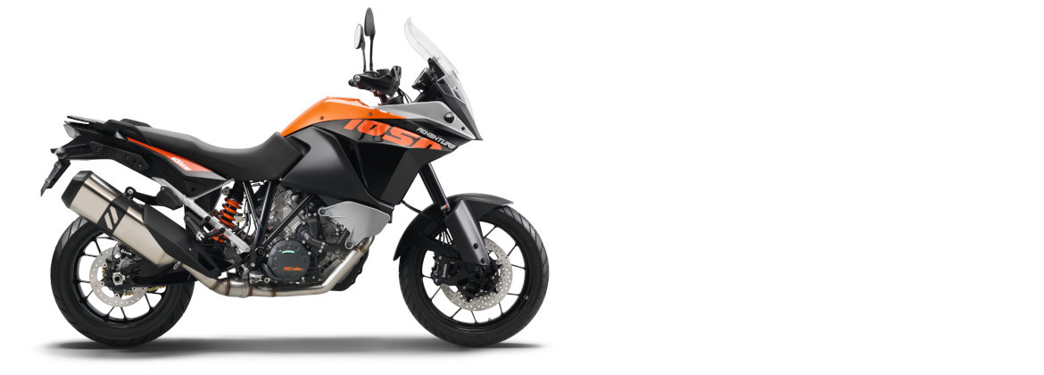 Motorcycle accessories for KTM 1050 Adventure