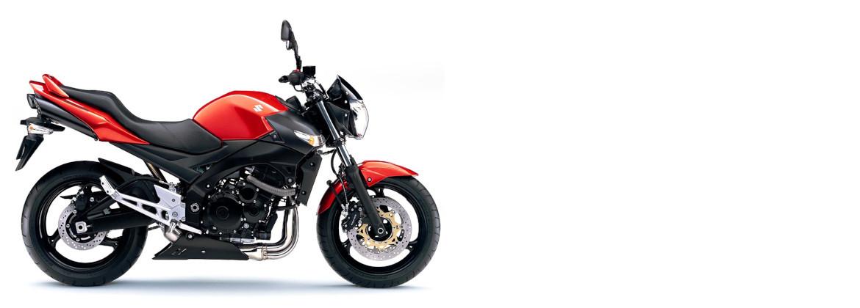 Motorcycle accessories for Suzuki GSR 600