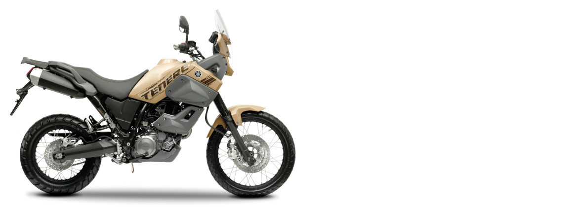 Motorcycle accessories for Yamaha XT660Z Ténéré