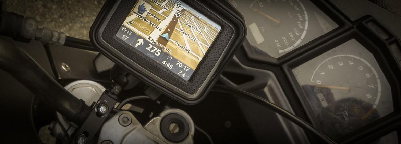 Uchwyty do motocyklowych nawigacji GPS