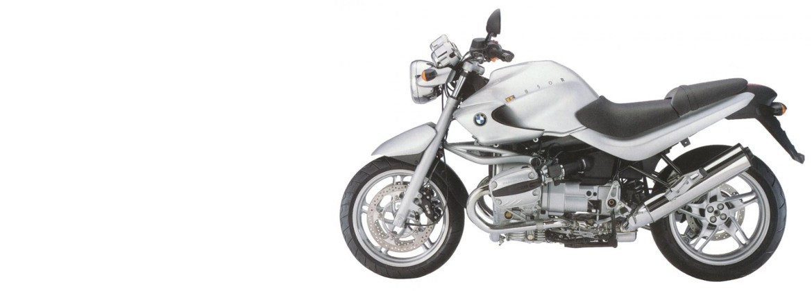Motorcycle accessories for BMW R 850 R