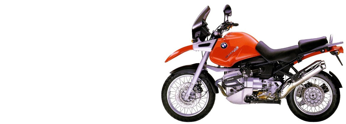 Motorcycle accessories for BMW R1100GS